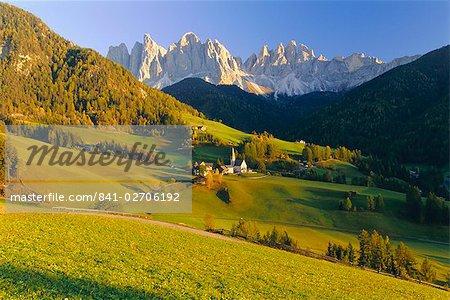 Geisler Gruppe, Geislerspitzen, The Dolomites, Trentino-Alto Adige, Italy, Europe