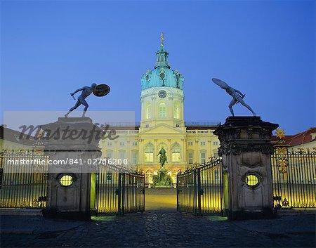 Château de Charlottenburg, Berlin, Allemagne, Europe