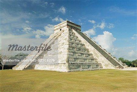 Ruines de Chichènitzá, Maya, Yucatan, Mexique, Amérique centrale