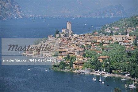 Malcesine, Lago di Garda (lac de garde), Veneto, Italie, Europe