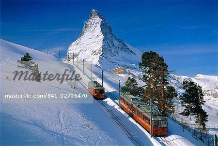 Le Cervin, Zermatt, Suisse, Europe