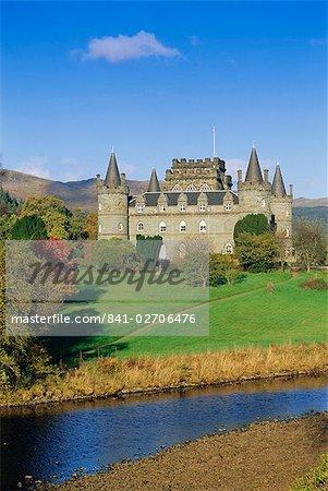 Inveraray Castle, Highlands, Scotland, United Kingdom, Europe