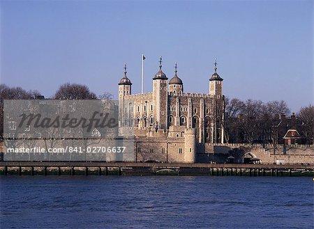 La tour de Londres, patrimoine mondial de l'UNESCO, Londres, Royaume-Uni, Europe