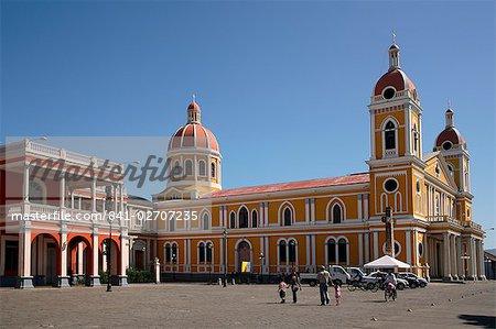 Cathédrale, Granada, Nicaragua, l'Amérique centrale