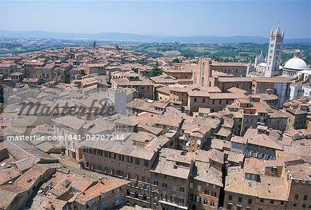 Siena, UNESCO World Heritage Site, Tuscany, Italy, Europe