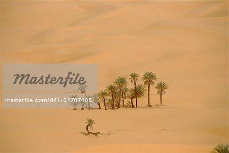 Mer de sable Ubari, Libye, North Afrique