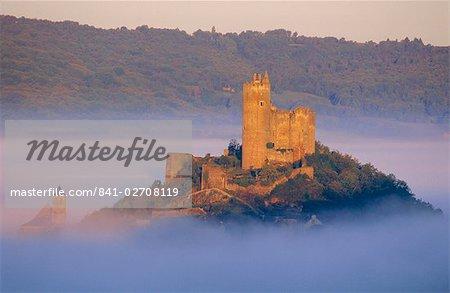 Najac Castle, Aveyron, Midi Pyrenees, France, Europe