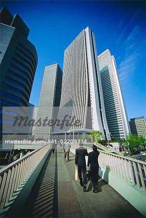 Quartier financier, Tokyo, Japon