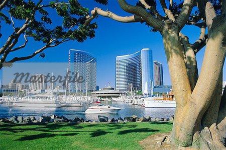 Embarcadero Marina, San Diego, Californie, États-Unis d'Amérique
