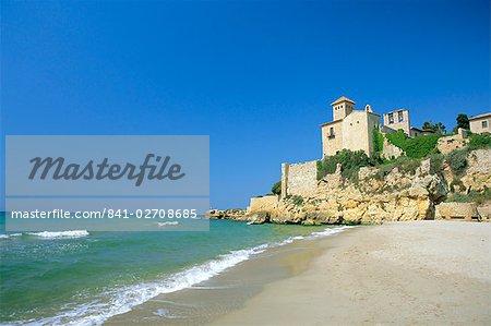 Château de Tamarit, Tarragona, Catalogne, Espagne, Europe