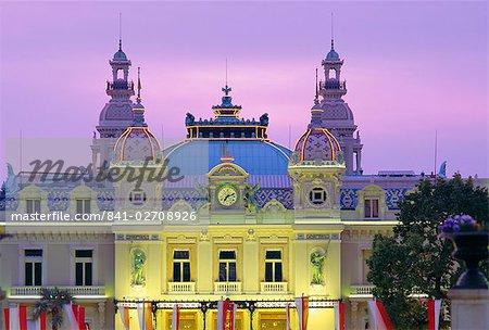 The Casino, west front, Monte Carlo, Monaco, Europe