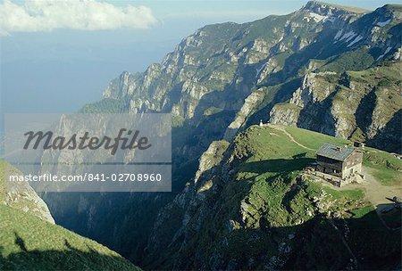 Cabana Caraiman, Bucegi Mountains, Transylvania, Romania, Europe