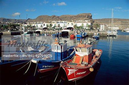 Puerto de Mogan, Gran Canaria, Iles Canaries, Espagne, Atlantique, Europe