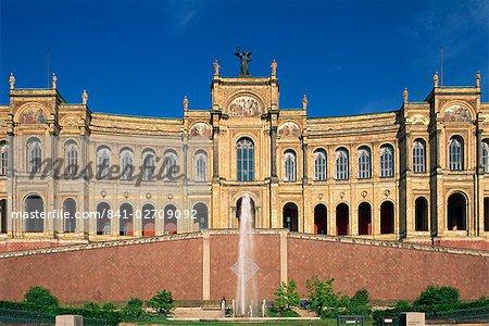 Le Maximilianeum Munich, Bavière, Allemagne, Europe