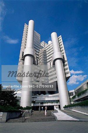 Bâtiment Hypobank, Munich, Bavière, Allemagne, Europe