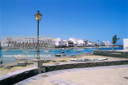 Charco de San Gines, Arrecife, Lanzarote, Canary Islands, Spain, Atlantic, Europe