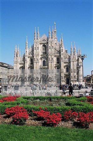 Piazza del Duomo, Milan, Italie, Europe
