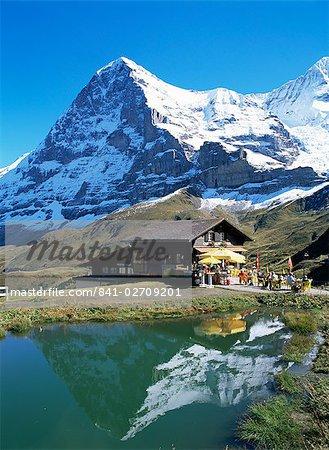 L'Eiger, Kleine Scheidegg, Berner Oberland, Alpes suisses, Suisse, Europe
