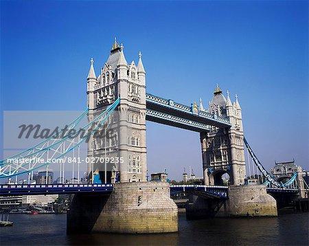 Tower Bridge, London, England, United Kingdom, Europe