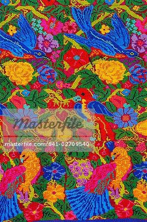 Huipil tissu motif, Guatemala, Amérique centrale