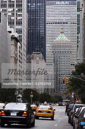 Park Avenue, Manhattan, New York City, New York, États-Unis d'Amérique, l'Amérique du Nord