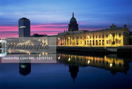 The Custom House, Dublin, Co. Dublin, Eire (Republic of Ireland), Europe