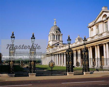 Royal Naval College, Greenwich, London, England, UK