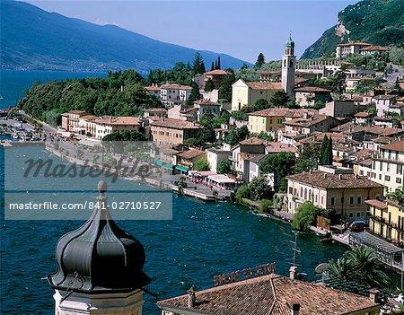 Limone, lac de garde, lacs italiens, Lombardie, Italie, Europe