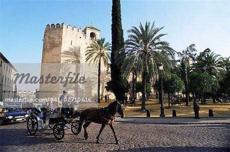 Alcazar de los Reyes Christianos, Cordoba, Andalucia, Spain, Europe