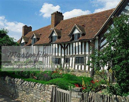 House, Stratford-upon-Avon, Warwickshire, Angleterre de Mary Arden, Royaume-Uni, Europe