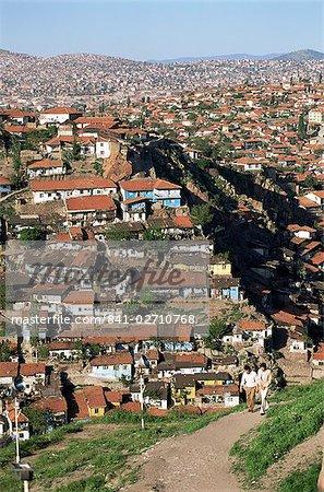Vue sur la ville, Ankara, Anatolie, Turquie, Asie mineure, Eurasie