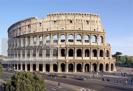 Le Colisée, Rome, Lazio, Italie, Europe