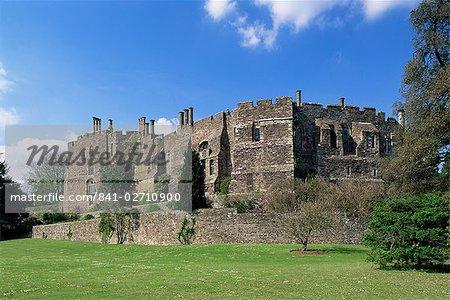 Château de Berkeley, construit en 1153, Gloucestershire, Angleterre, Royaume-Uni, Europe