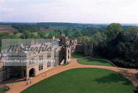 Warwick Castle,Warwick, Warwickshire, England, United Kingdom, Europe