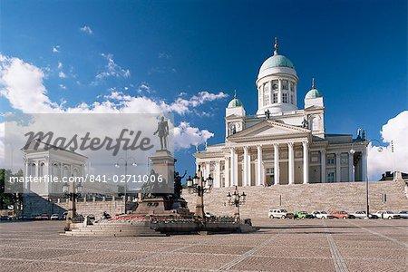 Lutheran Cathedral, Helsinki, Finland, Scandinavia, Europe