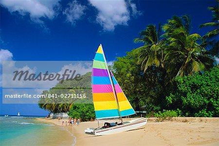 St. James Beach, la Barbade, Caraïbes, Antilles