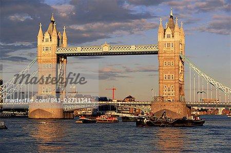 Tower Bridge, London, England, Großbritannien, Europa