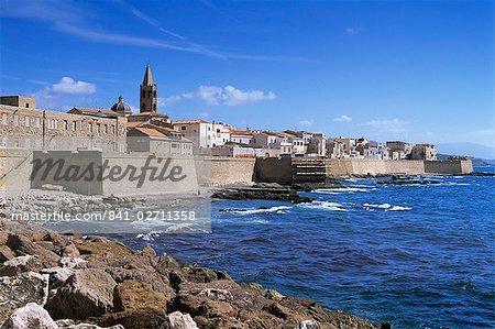 Alghero, Sardaigne, Italie, Méditerranée, Europe