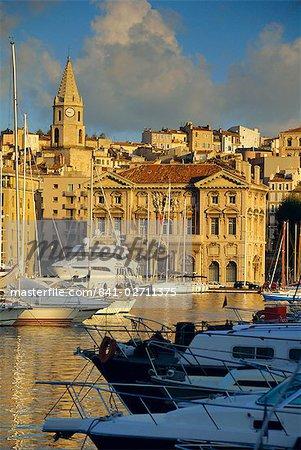 Vieux Port, Marseille, Bouche du Rhône, Provence, France, Europe