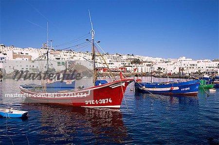 Puerto del Carmen, Lanzarote, Canary îles, Espagne, Atlantique, Europe