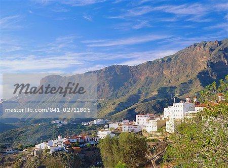 1010M élevé dans le Barranco de Tejaia, Gran Canaria, îles Canaries Espagne