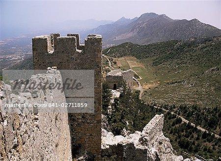 St. Hilarion castle, Chypre du Nord, Chypre, Europe