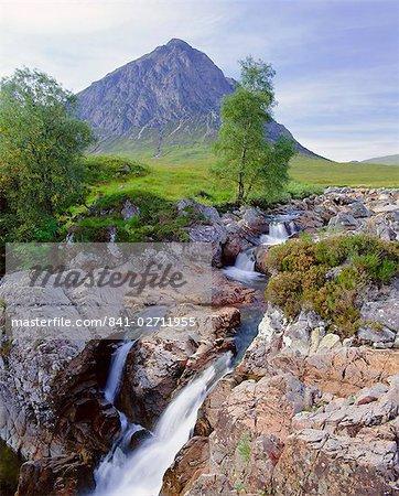 Beauchaille Etive, Glencoe (Glen Coe), Highlands Region, Scotland, United Kingdom, Europe