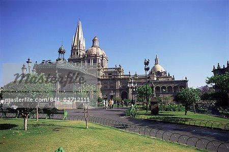 Cathédrale, Guadalajara, au Mexique, en Amérique du Nord