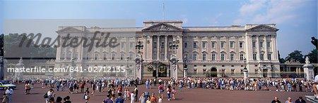 Vue panoramique de Buckingham Palace, Londres, Royaume-Uni, Europe