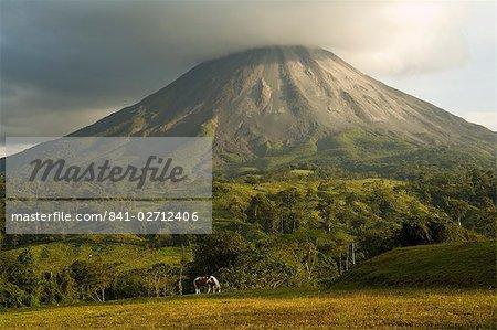 Arenal Volcano near La Fortuna, Costa Rica