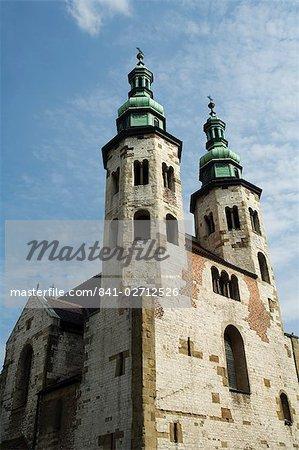 St. Andrew church, rue Grodzka, Krakow (Cracovie), l'UNESCO World Heritage Site, Pologne, Europe