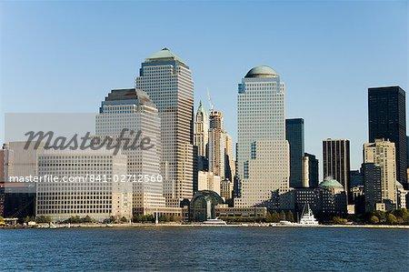 Business district, Lower Manhattan, New York City, New York, États-Unis d'Amérique, Amérique du Nord