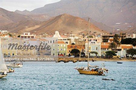 Port de Mindelo, Sao Vicente, Cap-vert, océan Atlantique, Afrique
