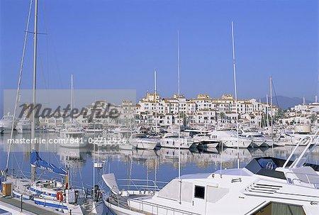 Puerto Banus, près de Marbella, Costa del Sol, Andalucia (Andalousie), Espagne, Europe